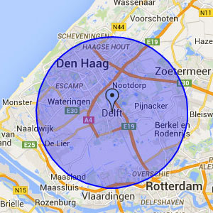 Schuifpui herstel Delft